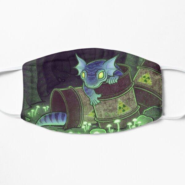 Radioactive Geckos Flat Mask