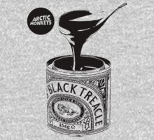 Black Treacle Single T-Shirt - Black Design