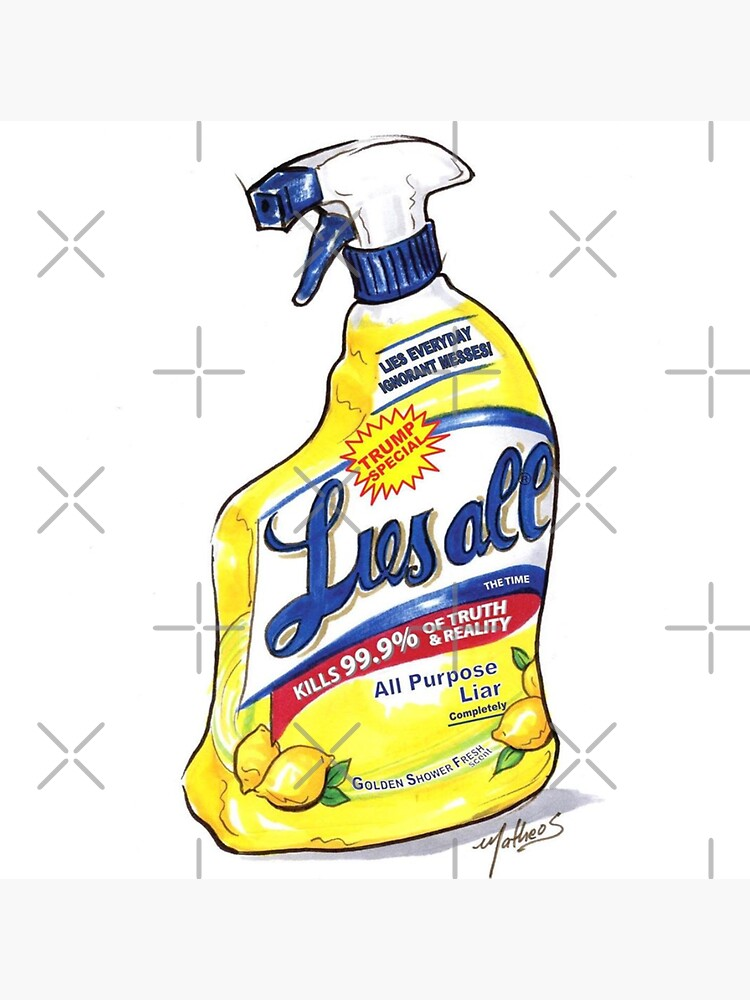 Trump Lysol and Bleach | Liesall  by poland-ball
