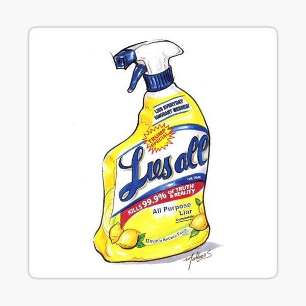 Trump Lysol and Bleach | Liesall  Sticker