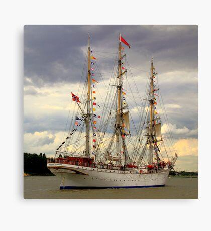 Tall Ships Race - Antwerp 2010 Canvas Print