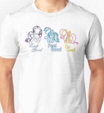 Rarity Rainbow Fluttershy Unisex T-Shirt