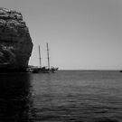 Leaving the anchorage by DeborahDinah