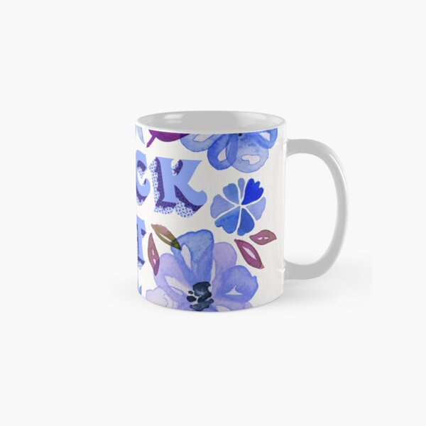 F*ck It – Blueberry Palette Classic Mug