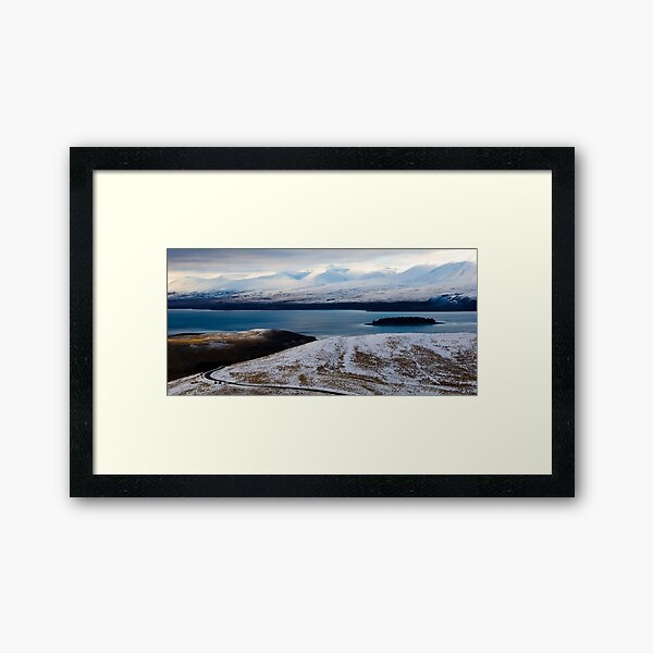 New Zealand Roads Framed Art Print
