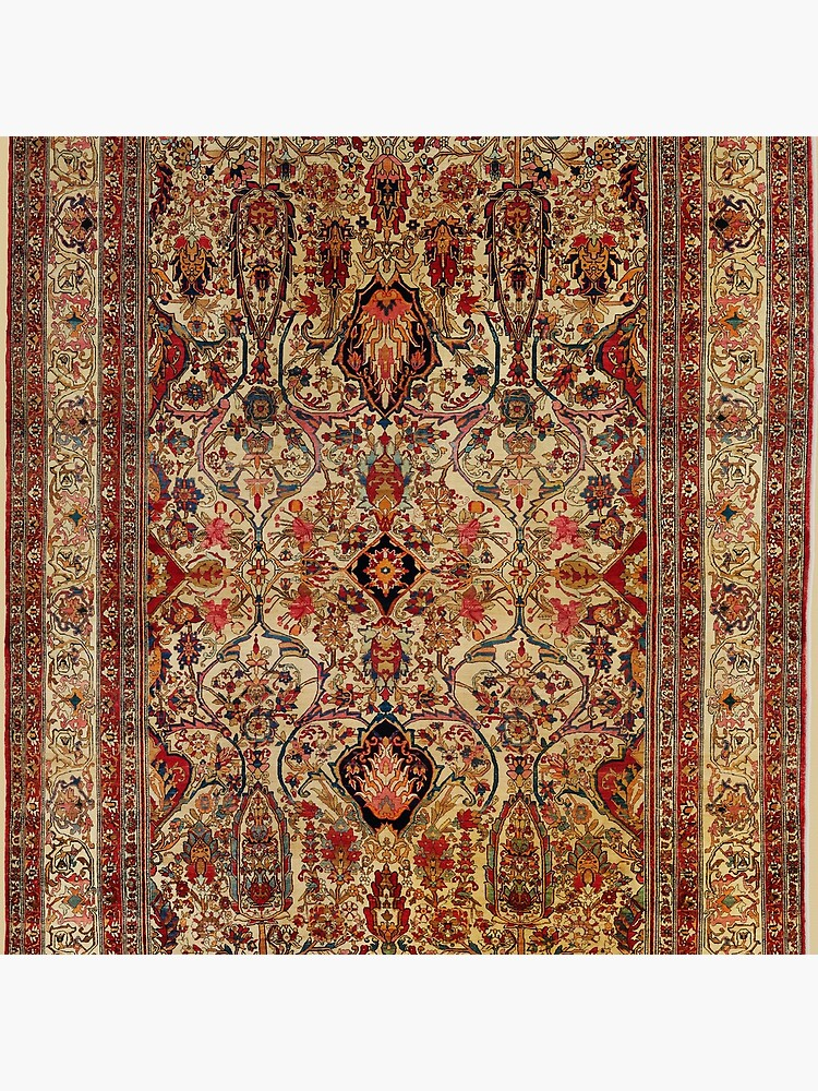 Lavar Kirman Southeast Persian Rug Print by bragova