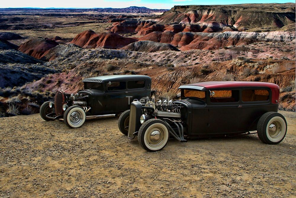 1930's Ford Rat Rods by TeeMack