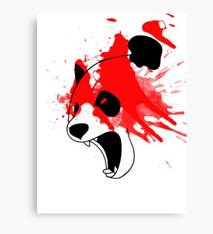 PandAngry Canvas Print