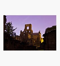 Kirkstall Abbey Cistercian monastery Leeds West Yorkshire Photographic Print