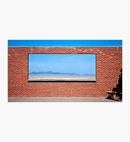 When Building Walls, Don't Forget to Include Windows Photographic Print