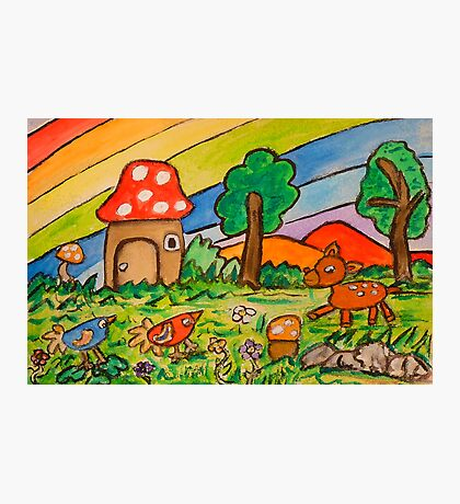 A Rainbow Place Photographic Print