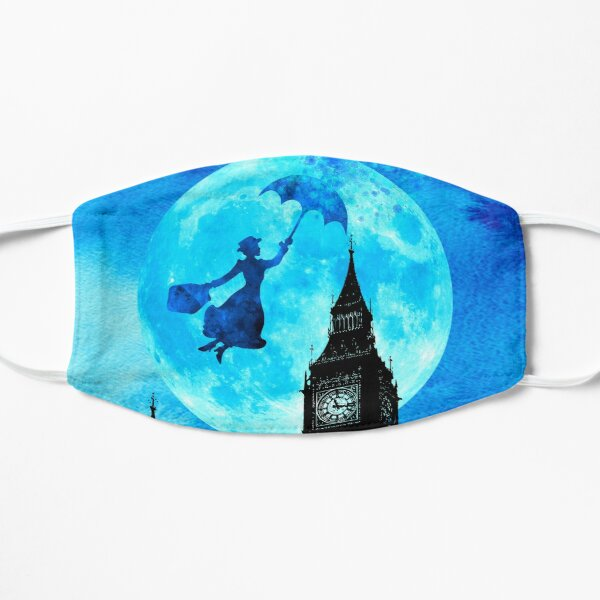 Magical Watercolor Night - Mary Poppins Mask