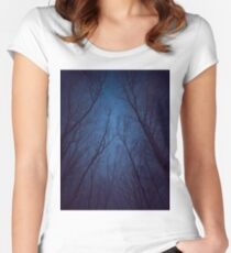 Ich habe die Sterne zu sehr geliebt Tailliertes Rundhals-Shirt