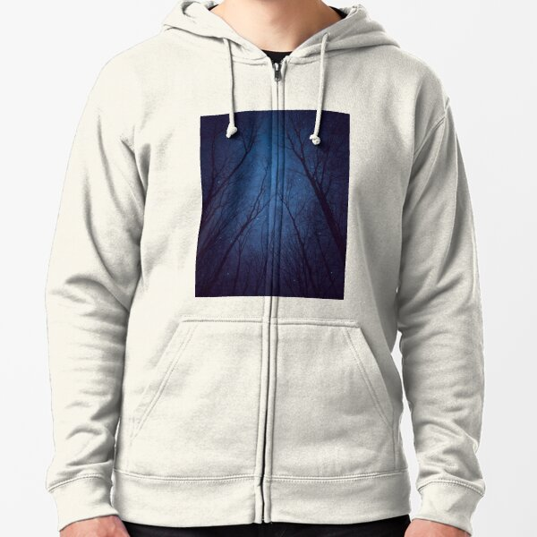 I Have Loved the Stars too Fondly Zipped Hoodie