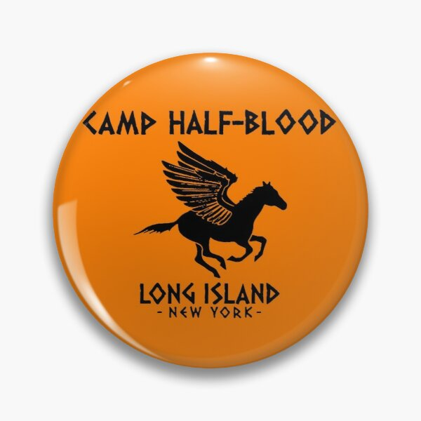 Camp Half-Blood logo Pin
