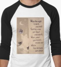 The Ghost & The Pumpkin (Vintage Halloween Card) T-Shirt