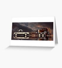 On Tow Greeting Card