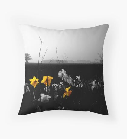 They are leaning out for love, And they will lean that way forever Throw Pillow