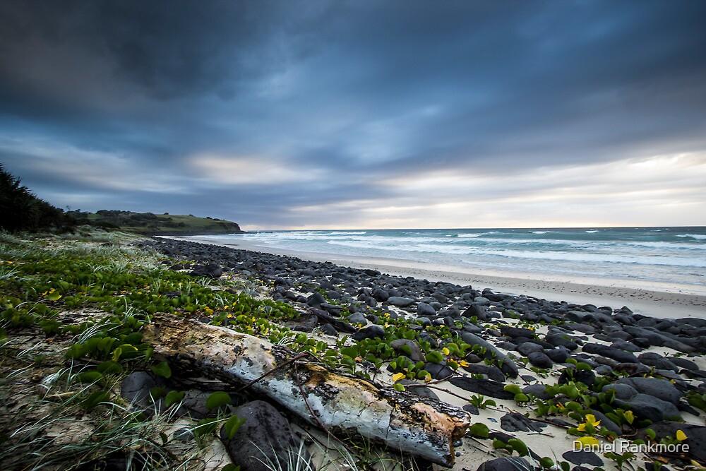 Sunrise over Sharpes Beach v.2 by Daniel Rankmore