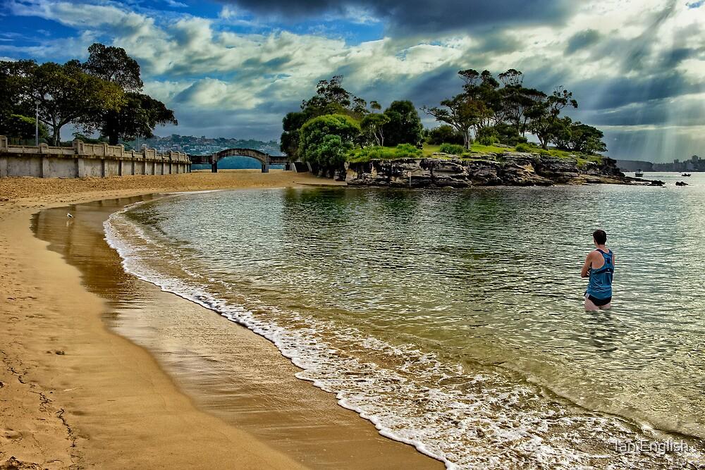 Balmoral Beach - Sydney Harbour by Ian English