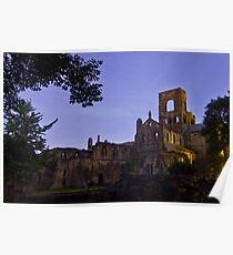 Kirkstall Abbey 4189-A Cistercian monastery Leeds West Yorkshire Poster
