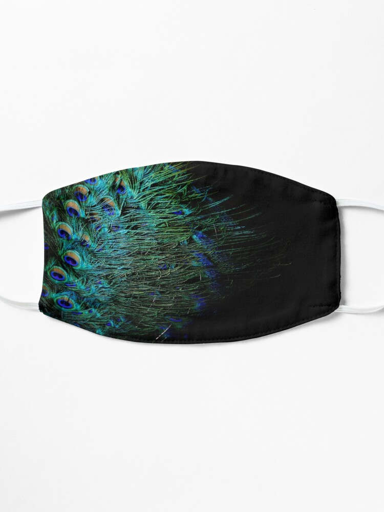 Alternate view of Peacock Feather Mask