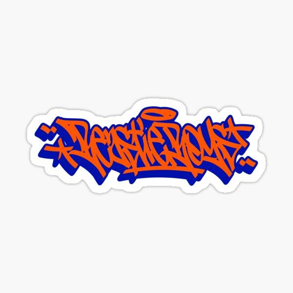 Beastie - Hip-Hop - Chicos - Etiquetado de graffiti Pegatina
