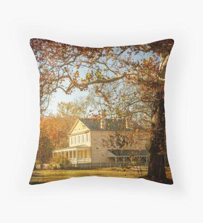 Atsion Mansion Throw Pillow