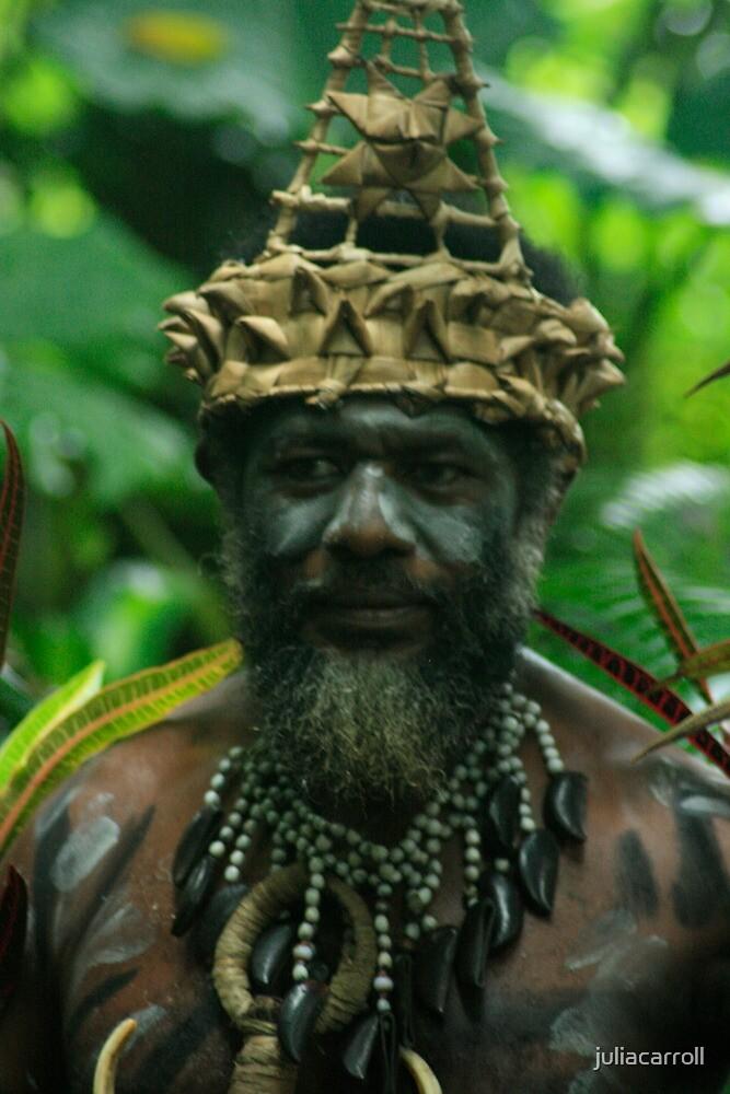 Tribal Chief by juliacarroll