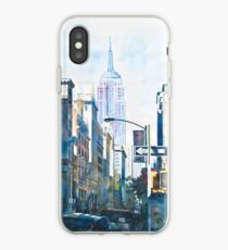 Vinilo o funda para iPhone Nueva York - Empire State