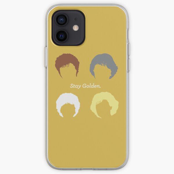 """The Girls // """"Stay Golden"""" iPhone Soft Case"""