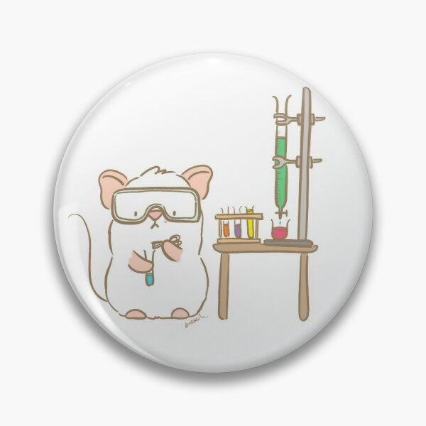 Lab Mouse Pin
