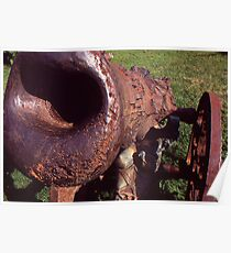 Old Cannon at the Park Poster