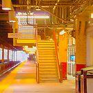 stairs, newark series by mikepaulhamus