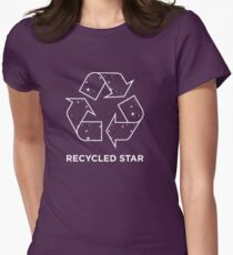Recycled Star Women's Fitted T-Shirt