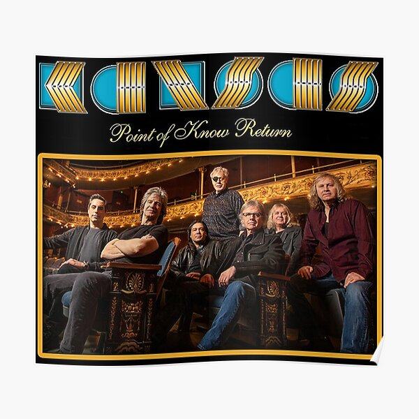 Kansas Give Good Music Legent Band Show and Tour Poster