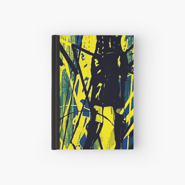 Whip it blue Hardcover Journal