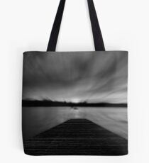 Sunrise at jetty Tote Bag