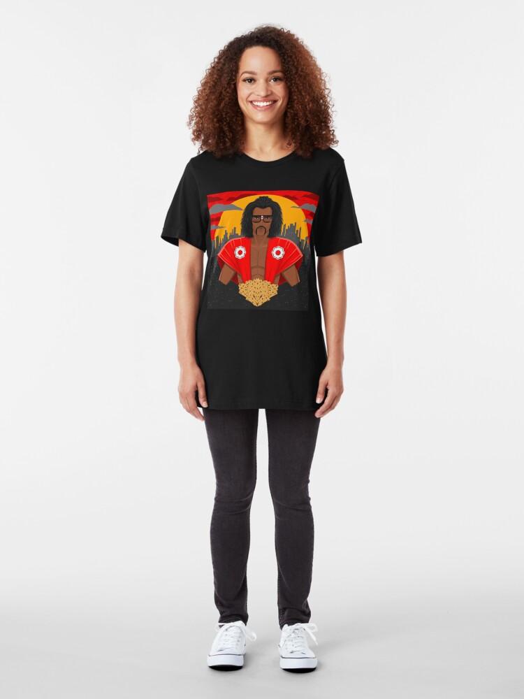 Alternative Ansicht von Wer ist der Meister? Slim Fit T-Shirt