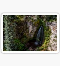 Trujillo Meadow Reservoir Waterfall - Colorado Sticker