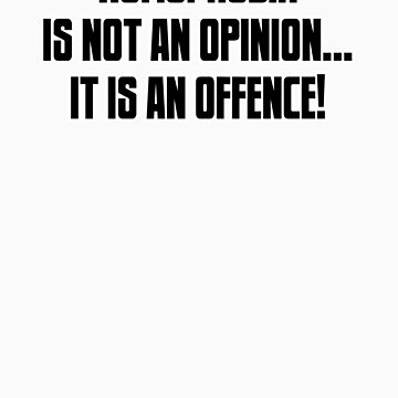Homophobia... it's an offence! by mancerbear