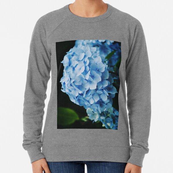Nantucket Blue Hydrangeas Lightweight Sweatshirt