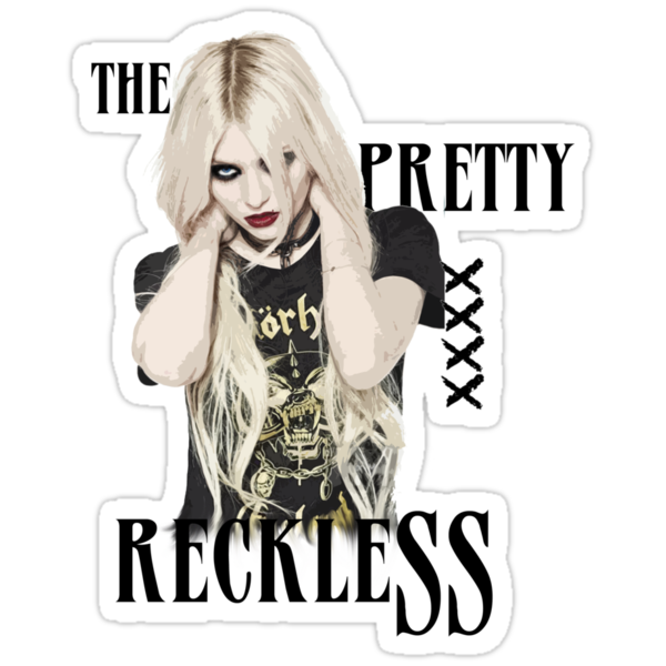 Quot The Pretty Reckless Quot Stickers By Fatyoda8 Redbubble
