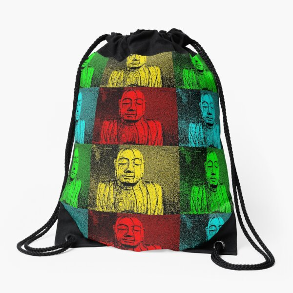 Karma Squared = 4 x the luck Drawstring Bag