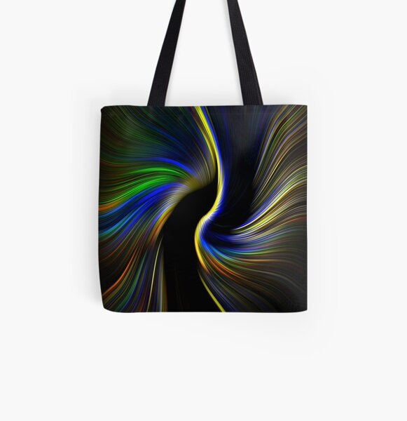 Abstract Church - 2 All Over Print Tote Bag