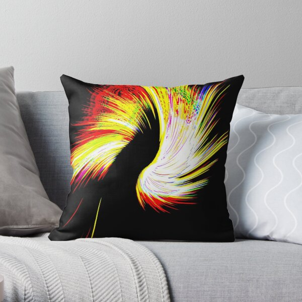 Abstract Church - 1  Throw Pillow