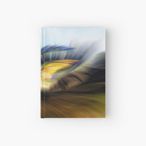 Welsh Mountains Abstract - 2 Hardcover Journal