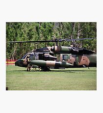 Helicopter Prince Williams Visit to Cardwell, North Queensland, Australia 2012 Photographic Print