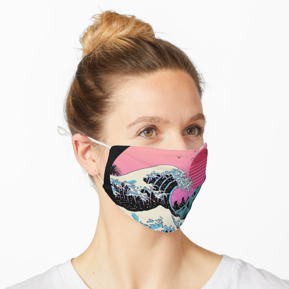 The Great Retro Wave Mask