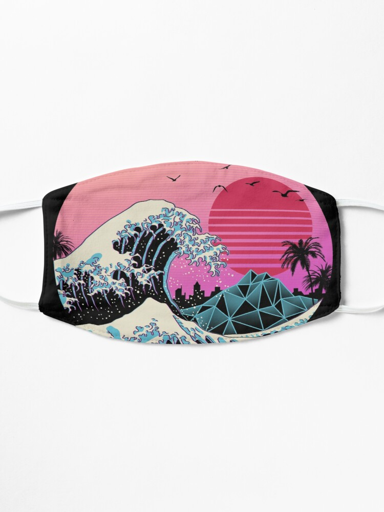 Alternate view of The Great Retro Wave Mask